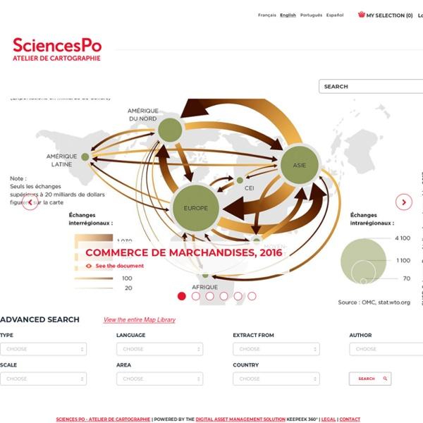 Atelier de cartographie de Sciences Po (site internet)