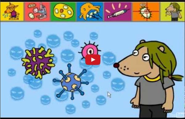 Les sciences rigolotes pour enfants - Dessin animé interactif et éducatif