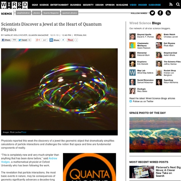 Scientists Discover a Jewel at the Heart of Quantum Physics - Wired Science