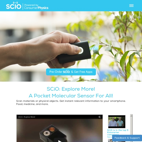 SCiO - Explore More!