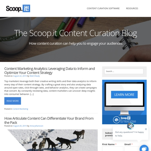 Content Curation and Lean Content Marketing