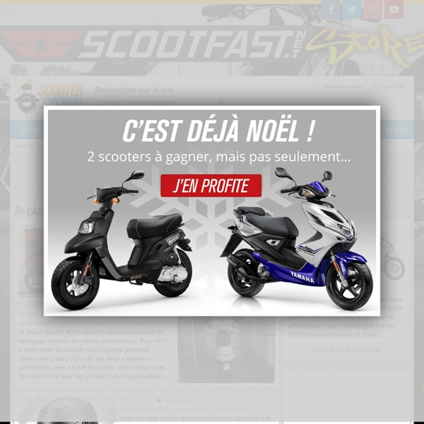 Scooter System, actualité scooter 50 & 125