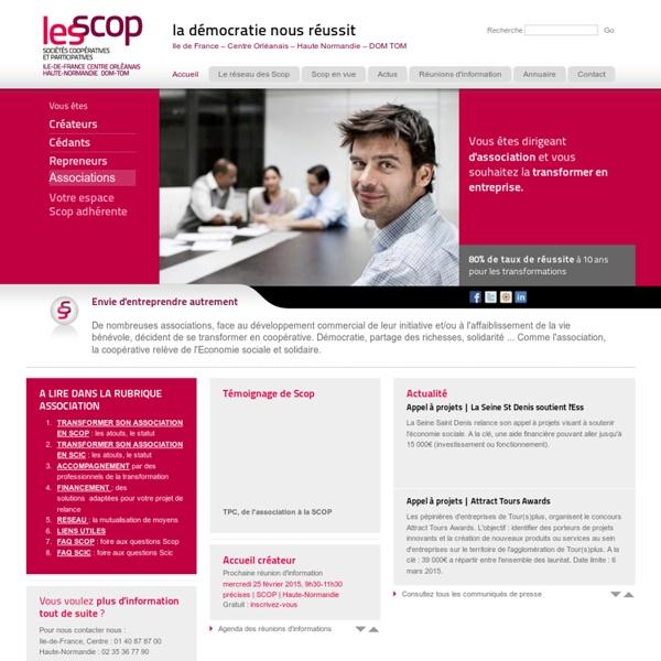 Transformer une association en SCOP