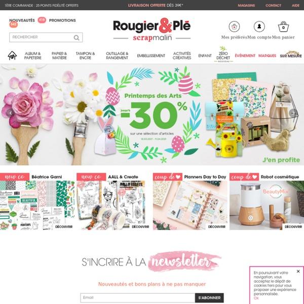 Loisirs créatifs - Boutique en ligne de scrapbooking