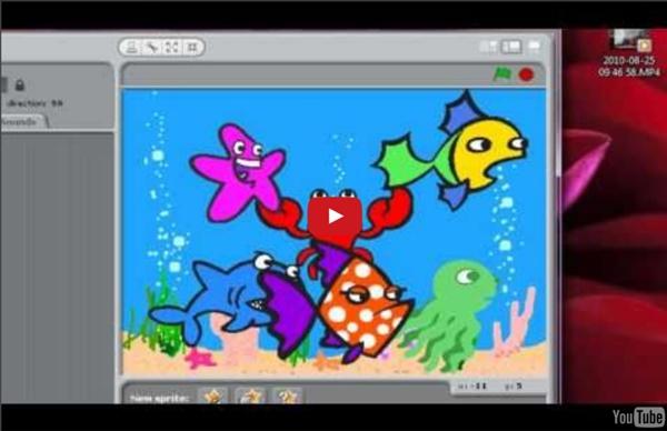 Scratch Tutorial 3: Aquarium