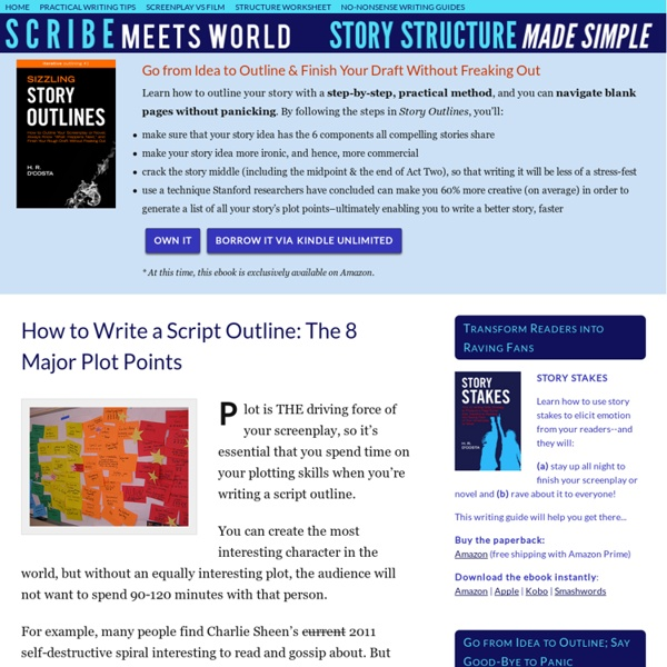 How to Write a Script Outline