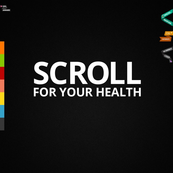 SCROLL FOR YOUR HEALTH - by Tomer Lerner