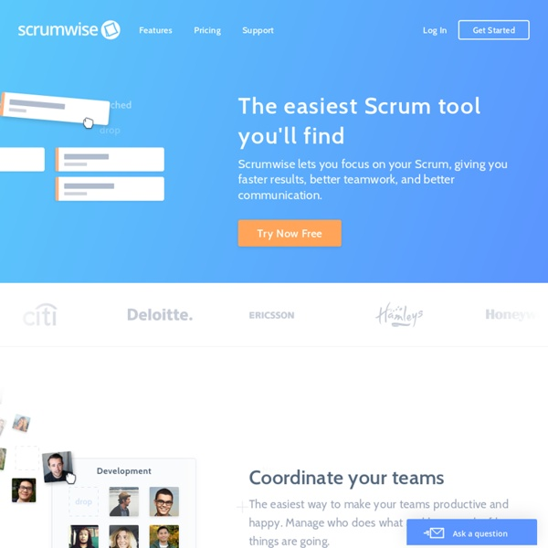 Scrumwise - The Scrum tool you've always wanted