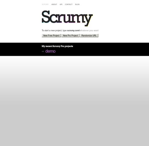 Scrumy