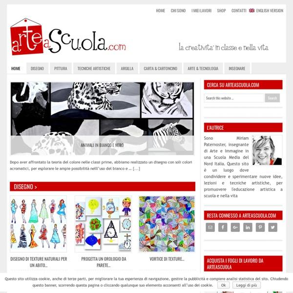 Arte a scuola — La creatività in classe e nella vita