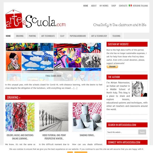Arte a scuola — Creativity in the classroom and in life