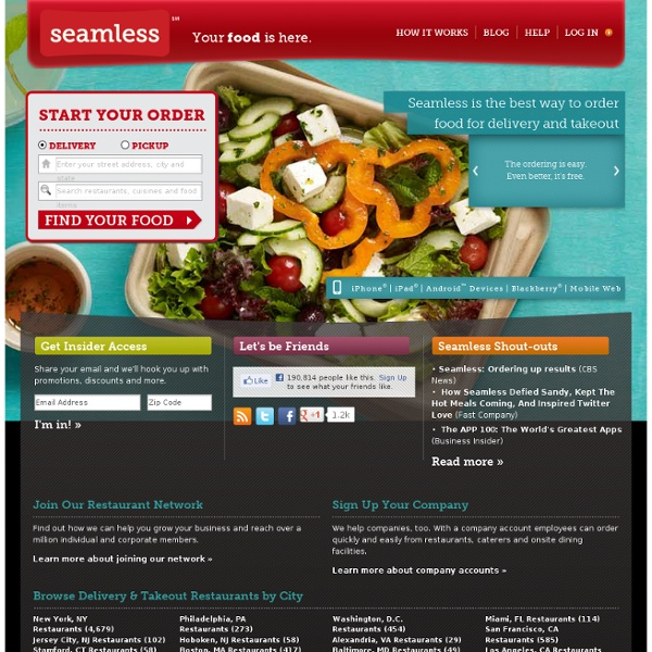 Order Food Delivery Online from Local Restaurants