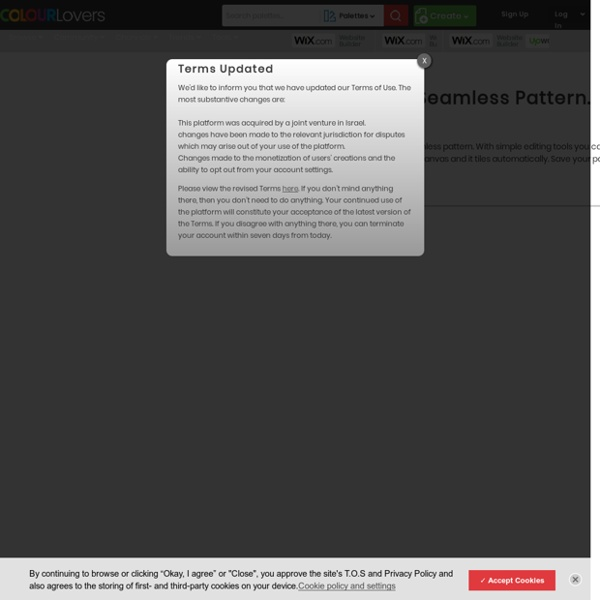 Seamless Lite - Seamless Pattern Design by COLOURlovers