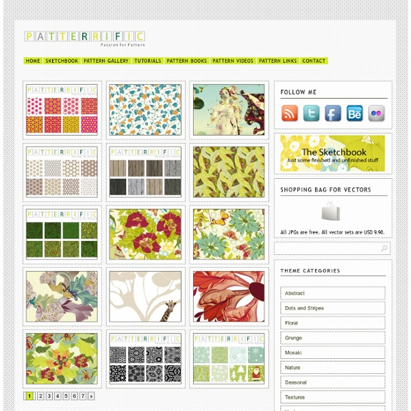 Seamless patterns - Patterrific