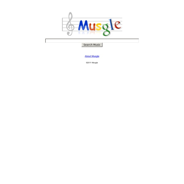 Free Music Search powered by Google = Musgle