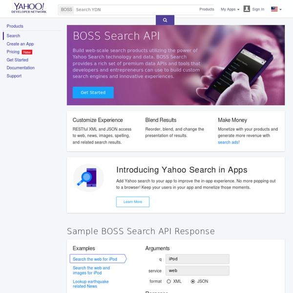 Search BOSS