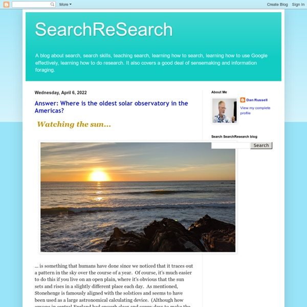 SearchReSearch - Blog For Searching