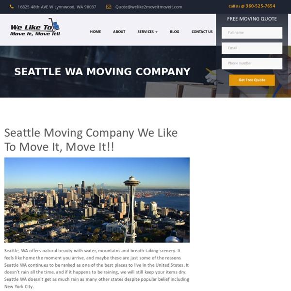 Seattle, WA Moving Company