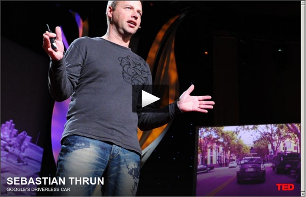 Sebastian Thrun: Google's driverless car