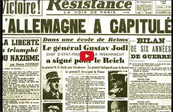 8 mai 1945 : Fin de la guerre en Europe