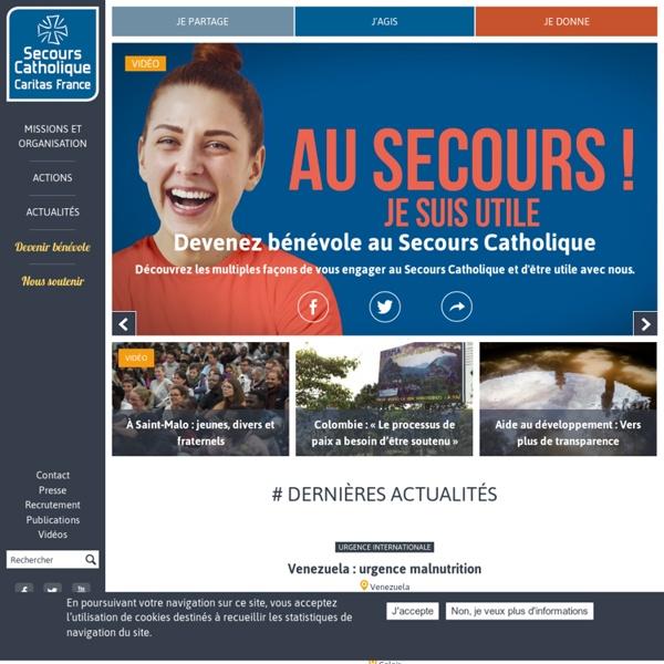 Secours Catholique / Caritas France - Association humanitaire caritative - ONG