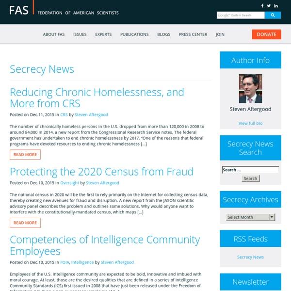 Secrecy News