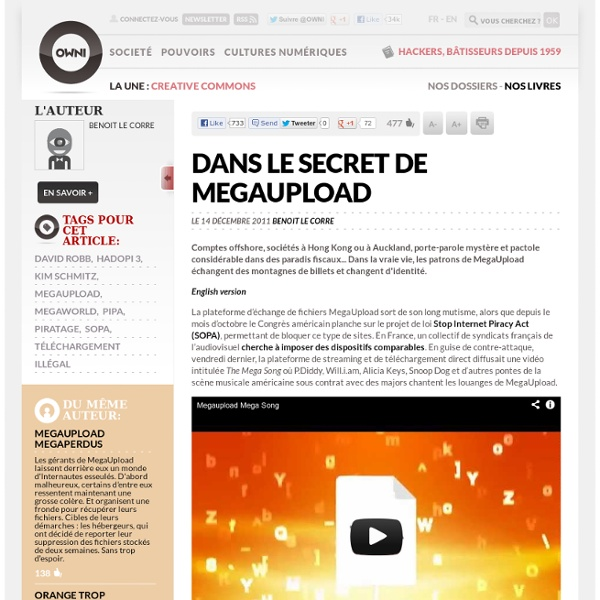 Dans le secret de MegaUpload