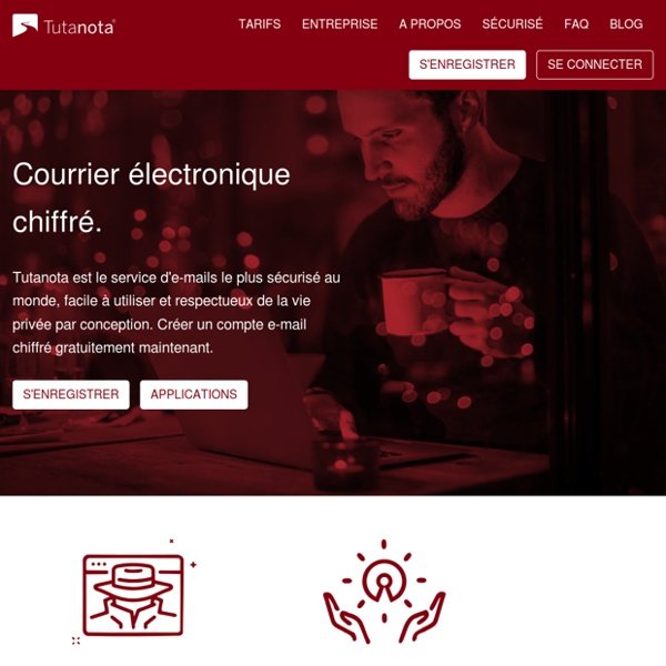 Mails sécurisés: Tutanota rend le service mail gratuit et sécurisé simple