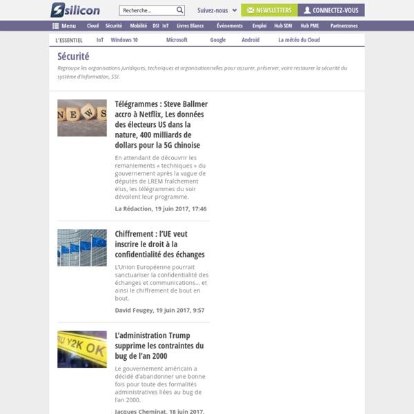 Silicon.fr/Sécurité : les news, dossiers et analyses