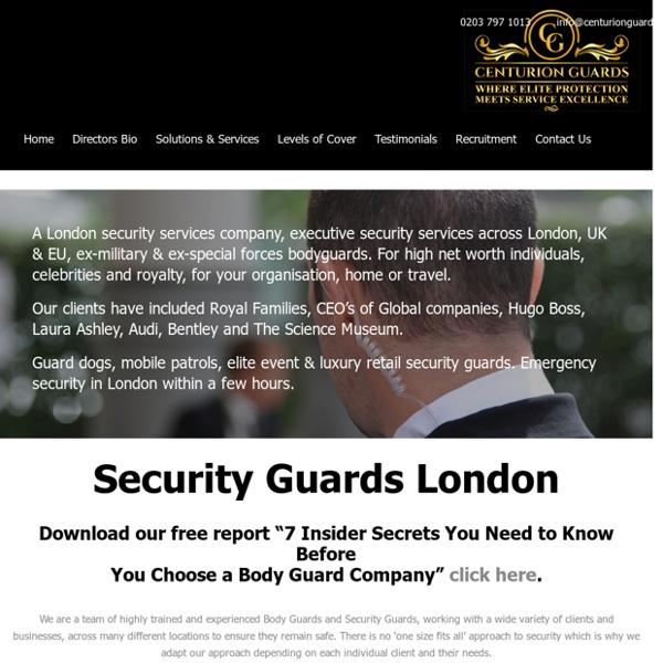 Security Guards London