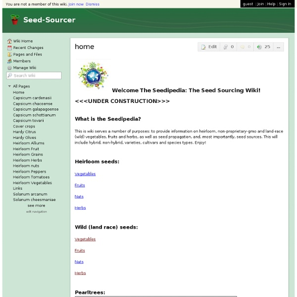 Seed Sourcer