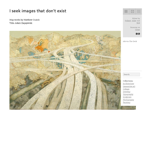Matthew Cusick - Map Works