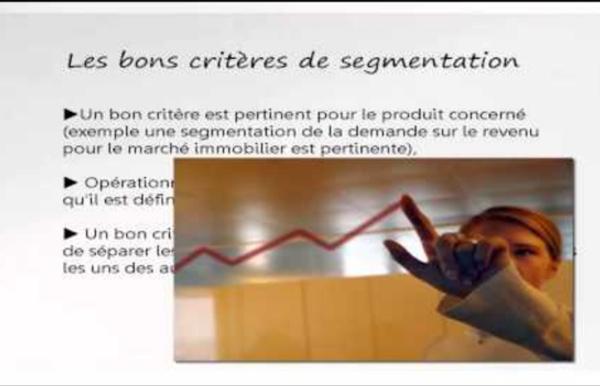 Vidéo : Segmentation positionnement
