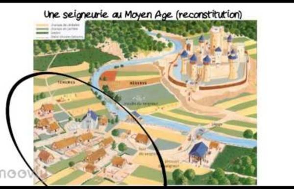 La seigneurie au Moyen Age