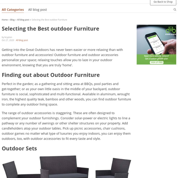 Difference Between Amish Furniture And Other Furniture?