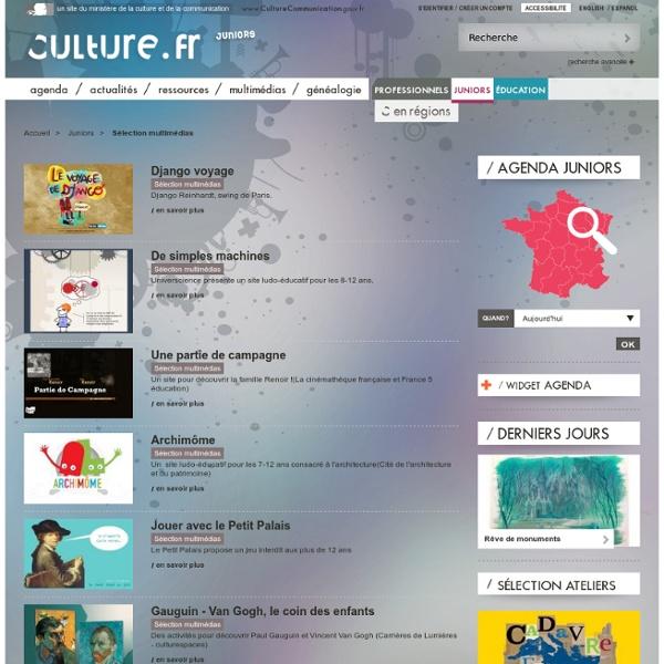 Sélection multimédias / Juniors