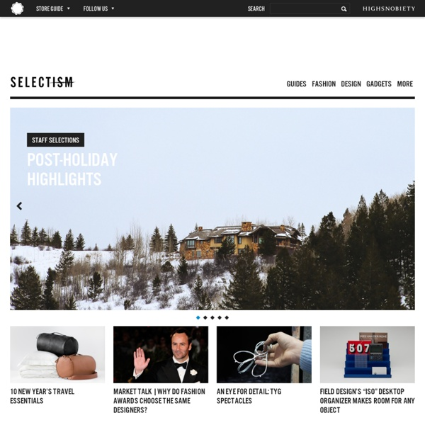 Online News Source for Fashion, Footwear, Design, and Lifestyle Culture