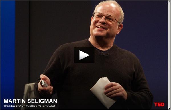 Martin Seligman on positive psychology