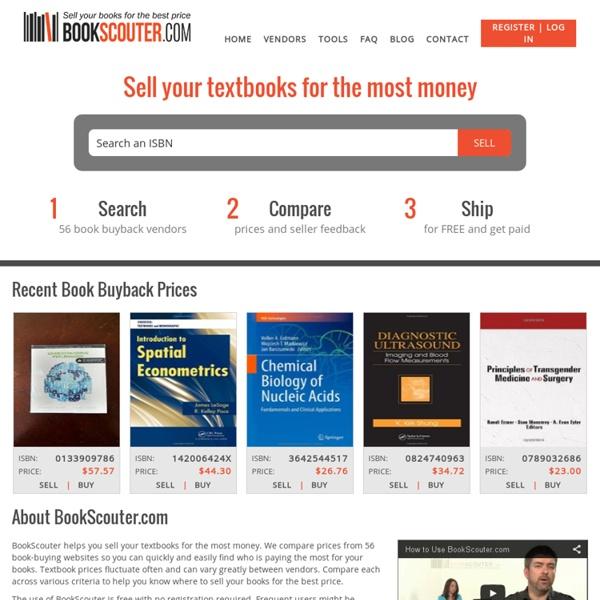 Sell Textbooks Online