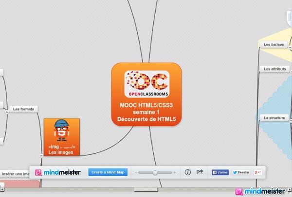MOOC HTML5/CSS3 semaine 1