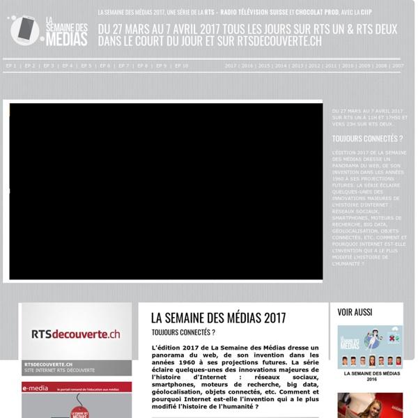 La Semaine des médias 2017 : Toujours connectés ?
