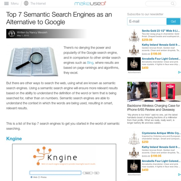 Top 7 Semantic Search Engines
