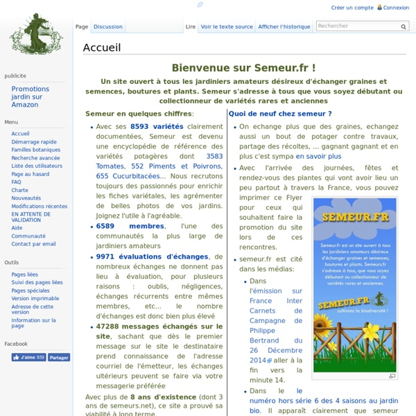 Semeurs : Bourse - Encyclopedie