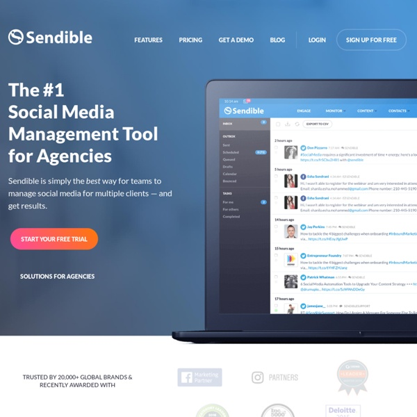 Social Media Management, Monitoring & Analytics Tools