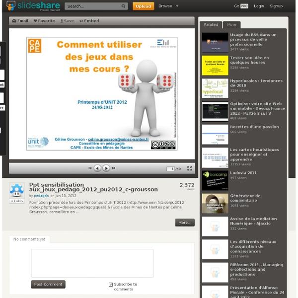 Ppt sensibilisation aux_jeux_pedago_2012_pu2012_c-grousson