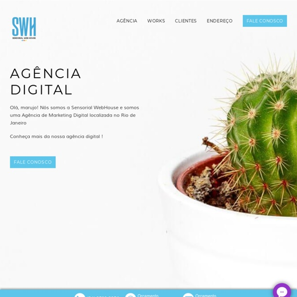 Sensorial WebHouse Marketing Digital