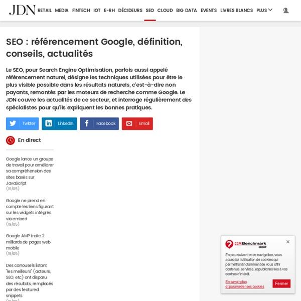 SEO sur JDN : toutes les actualités et tendances SEO