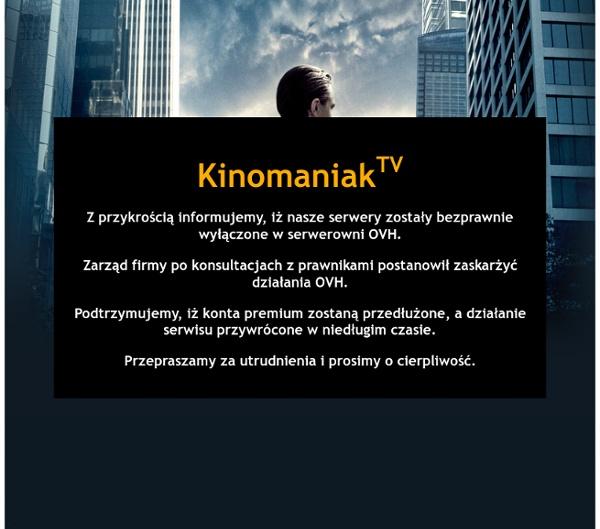 Filmy online, Seriale online, filmy za darmo, darmowe seriale bez limitu - Kinomaniak.tv