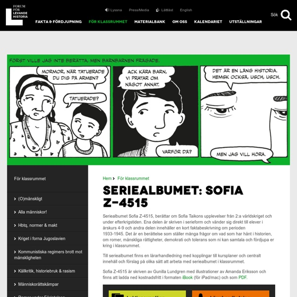 Seriealbumet: Sofia Z-4515