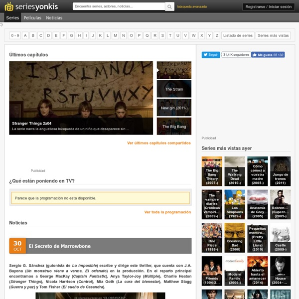 Series Yonkis - Descarga de series y ver online series